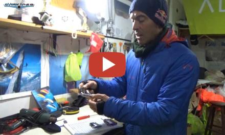 Andy Hediger: Cómo checkear los mosquetones.