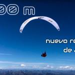 8100m el nuevo record de altura en parapente