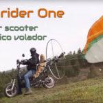 Skyrider One: el primer scooter con paramotor eléctrico