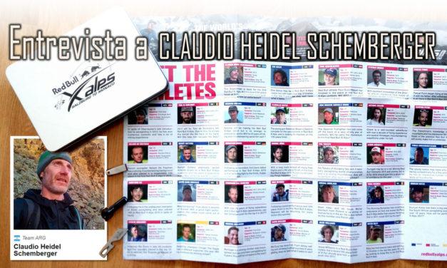 Entrevista a Claudio Heidel Schemberger, único atleta argentino en el Red Bull X-Alps 2017