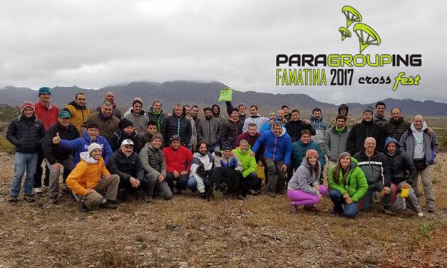 Resumen del ParaGrouping Famatina Mayo 2017